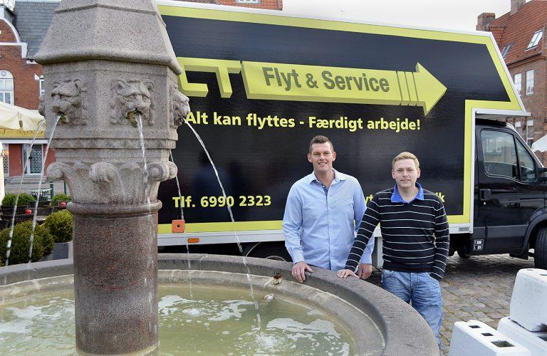 Dejligt travl weekend for flyttefirma i Køge