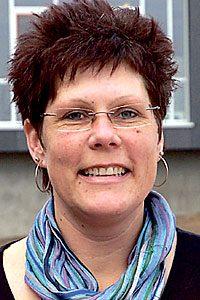Gwen E. Jensen, Køge Handelsskole